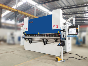WE67K-Genius-110T3200 CNC Kantbank Machine Met DA-66T, HARSLE 8-Axis CNC Buigmachine